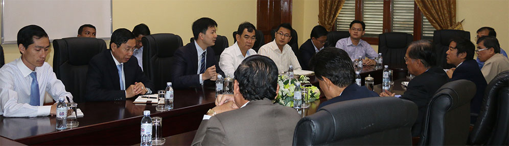 A Meeting between the Ministry of Public Works and Transport and CRF